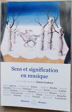 Sinn und Bedeutung in Musik, von marta Grabocz - 2007