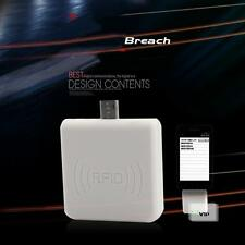 White USB RFID ID Card Reader 125KHZ For Access Control Android Phone BT
