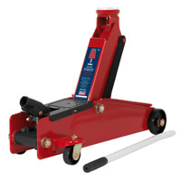 Sealey Tools Trolley Jack 3 Tonne Long Chassis Heavy Duty