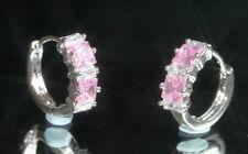 Hoop Sapphire Fine Earrings