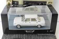 FIAT 128 CL NUOVA MK2 SPORT 1982 MARADONA WHITE NEO 45119 1/43 WEISS BIANCA