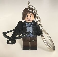 The Walking Dead Keyring Keychain Minifigure Daryl Dixon Fits Lego