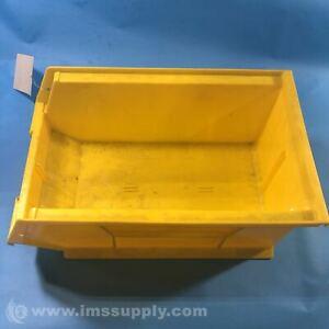 Quantum Storage Systems QUS241 Yellow Quantum Stack Bin USIP