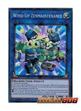 YUGIOH x 3 Wind-Up Zenmaintenance - FLOD-EN049 - Super Rare - 1st Edition Near M