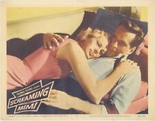 """SCREAMING MIMI""-ORIGINAL LOBBY CARD-#6-ANITA EKBERG-NOIR-PHIL CAREY"