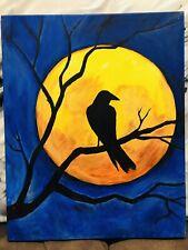 halloween art print 16 X 20