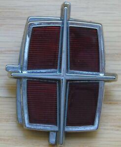 1985-1989 Ford Lincoln Town Car Trunk Lock Cover Emblem E5VB-5443600-AA