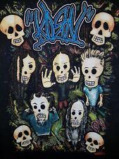 RARE Korn Untouchables Mexico Tour 2003 Shirt Embroidered Logo Size Large