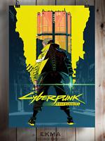 Cyberpunk 2077 Poster A3 A4 A5 Satin Matt Gloss