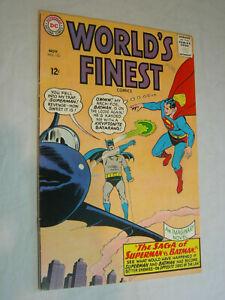 World's Finest #153 VG- Batman slaps Robin Panel don't miss out