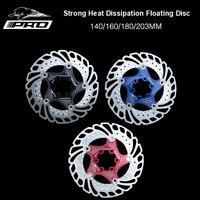 140/160/180/203mm Roto 6 Bolts MTB Bike Floating Brake Rotor Bike Brake Disc