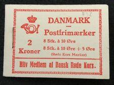 booklet Denmark Danmark Postfrimaerker Dansk Rode Kors