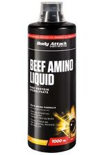 Body Attack Beef Amino Liquid 1000ml orange