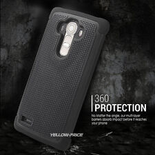 Special Hybrid Anti-Shock Durable Defender Armor Case Cover w/Films For LG G4