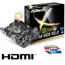 SCHEDA MADRE ASROCK MAINBOARD USB 3.0 HDMI SOCKET 1150 INTEL DDR3 MICRO ATX