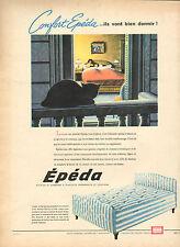 Publicité Advertising 1960  Confort EPEDA matelas et sommiers