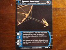 Star Wars TCG AOTC Tyranus's Solar Sailer (A)