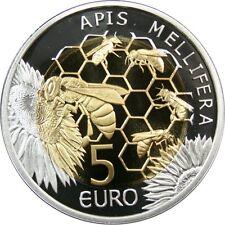 Ek // 5 Euro Silver Coin Luxembourg 2013 The European Honey Bee - Apis Mellifera