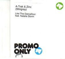 (DR341) A-Trak & Zinc, Like The Dancefloor ft Natalie Storm - DJ CD