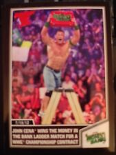 2013 Topps Best of WWE #25 John Cena Wins Money in the Bank RED Mint