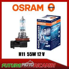 COPPIA Lampada Lampadina Luce OSRAM NIGHT BREAKER [LASER] H11 (PGJ19 2) 12V 55W | eBay