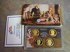 2007-S U S MINT PRESIDENTIAL $1 COIN PROOF SET * WITH BOX/COA