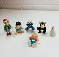 Vintage Mixed Mini Kids Toys Bundle Collectible Decorative