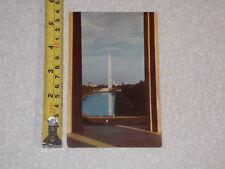 POSTCARD RARE VINTAGE WASHINGTON MONUMENT WASHINGTON DC #3