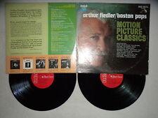 "2 LP ARTHUR FIEDLER / BOSTON POPS ""Motion picture classics"" RCA RED SEAL VCS-7 µ"