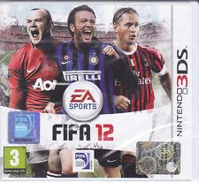 Nintendo 2DS~3DS **FIFA 12** nuovo sigillato italiano