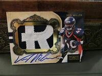 National Treasures Rookie Autograph Jersey Broncos Von Miller 28/49  2011