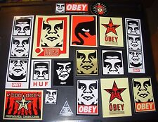 SHEPARD FAIREY Obey Giant Sticker 17 Pack Andre OG decal from poster