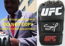 Francis Ngannou, The Predator, signed autographed UFC glove, MMA.COA exact proof