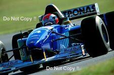 Johnny Herbert Sauber C15 British Grand Prix 1996 Photograph