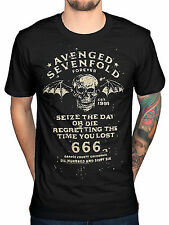Official Avenged Sevenfold Seize The Day T-Shirt A7X Band Metal Seventh Trumpet
