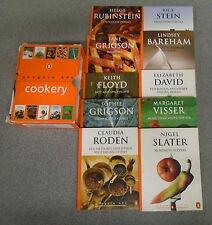 * 10 PENGUIN 60'S COOKERY BOOKS by PENGUIN * UK POST £3.25*PAPERBACK IN SLIPCASE
