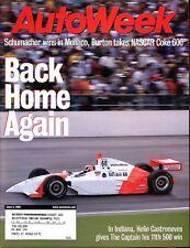 AutoWeek Magazine June 4, 2001 Toyota Highlander, Ford Focus ZX3, VW Eurovan