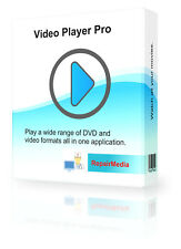 Bluray DVD CD de software reproductor de vídeo AVI MP4 MKV WMV formatos MPEG y muchos más