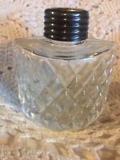 Vintage Antique Cut Glass Talcum Powder Bottle Shaker