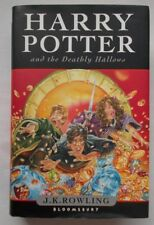Harry Potter and the Deathly Hallows 2007 True 1st FIRST edtn.HB/DJ - MINT