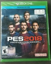 XBOX ONE XB1 PES PRO EVOLUTION SOCCER 2018 Premium Edition NEW FACTORY SEALED