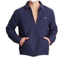 Polo Ralph Lauren Navy Blue Bomber Harrington Zip Up Jacket Golf Men's Size XL