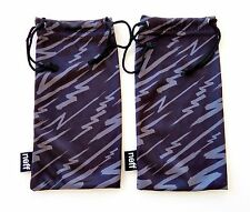 NEFF Sunglasses Eyeglasses Soft Cloth Carry Bag Pouch Dust Case Lot of 2 PCS