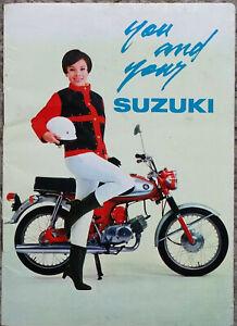Suzuki You and Your Suzuki Quirky Motorcycle Brochure