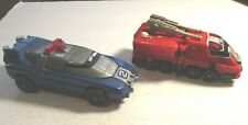 1997 Power Rangers Turbo Rescue Zord Bandai Lot of 2 Loose VG