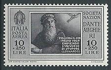 1932. REGNO POSTA AEREA DANTE 10 LIRE MNH ** - T182-2