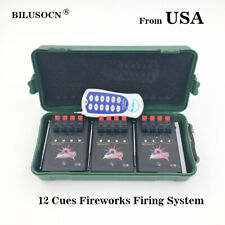 Wireless 12CH Fireworks Firing System+Remote with switch for party+gift