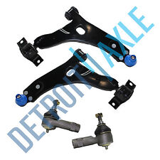 New 4pc Kit: Front Lower Control Arms + Outer Tie Rod Ends - BEFORE 4/4/04