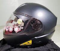 Nolan Helmet N104 Absolut NCOM BLKGRAPH XXSmall