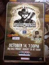Toby Keith Locked And Loaded Tour Poster